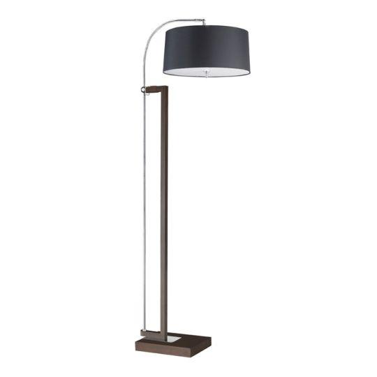 LEDS C4 25-2860-Y2-05V1 Extend Steel Chrome/Brown Floor Light