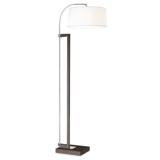 LEDS C4 25-2860-Y2-14V1 Extend Steel Chrome/Brown Floor Light