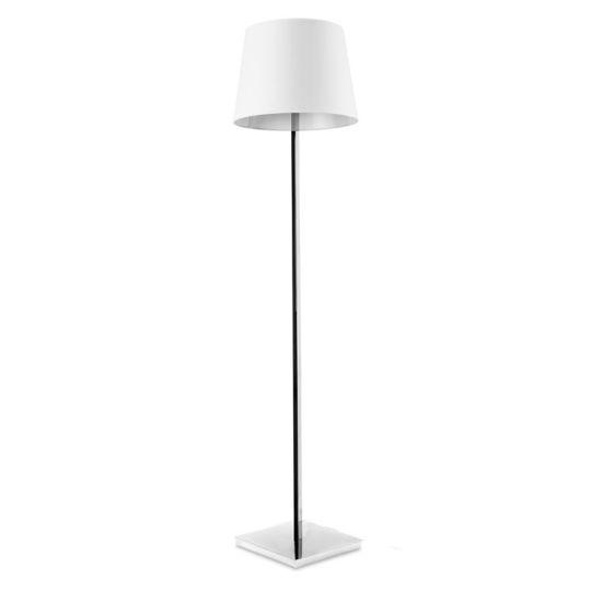 LEDS C4 25-4695-21-82 Torino Steel Chrome Floor Light