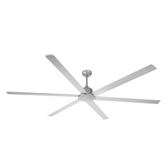 LEDS C4 30-5638-DB-DB Handia Steel Metallic Grey Fan