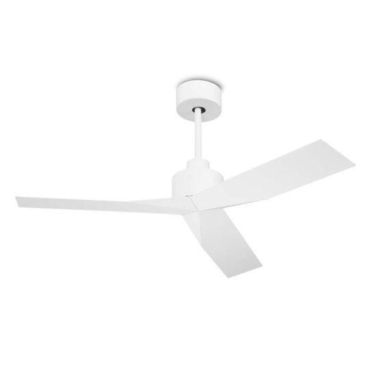 LEDS C4 30-5679-14-14 Lace Steel Matt White Fan