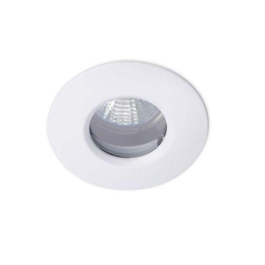 LA CREU Lighting - SPLIT Downlight, White, Tempered Glass - 320-BL
