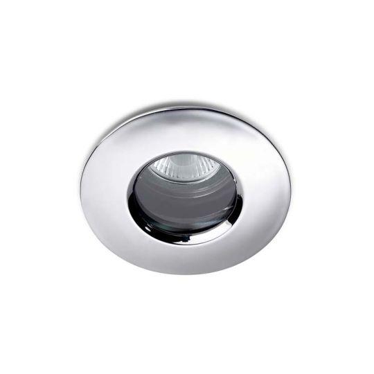 LA CREU Lighting - SPLIT Downlight, Chrome, Tempered Glass - 320-CR