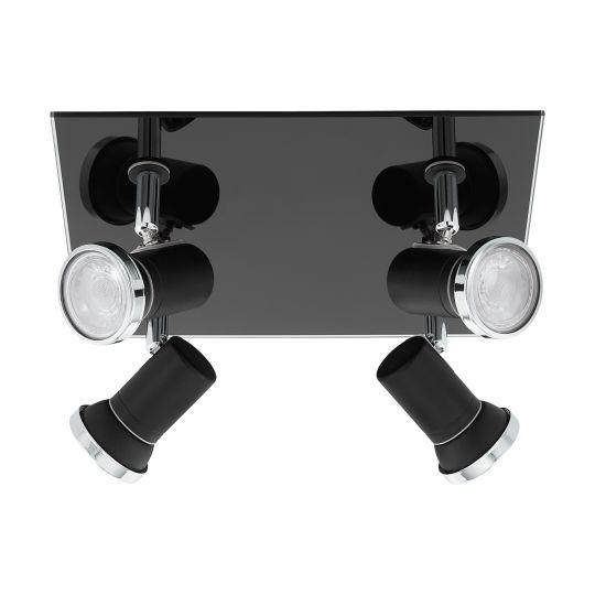 Eglo Tamara 1 Black Chrome Wall/Mirror Lamp (33678)