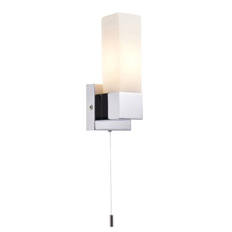 Saxby Lighting - Square single IP44 40W - 39627