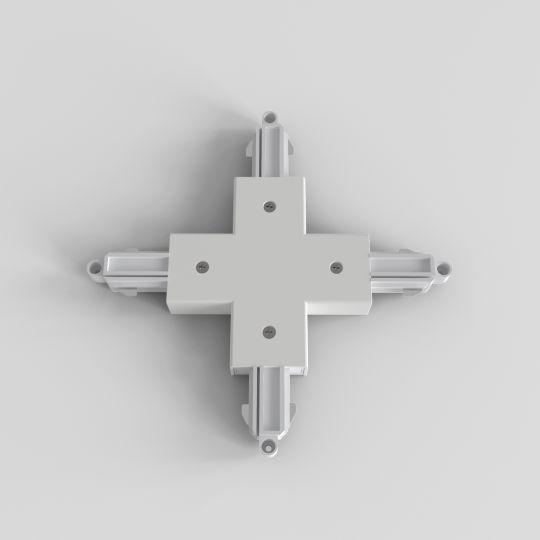 Astro X Connector Matt White Track Light 6020019 (2232)