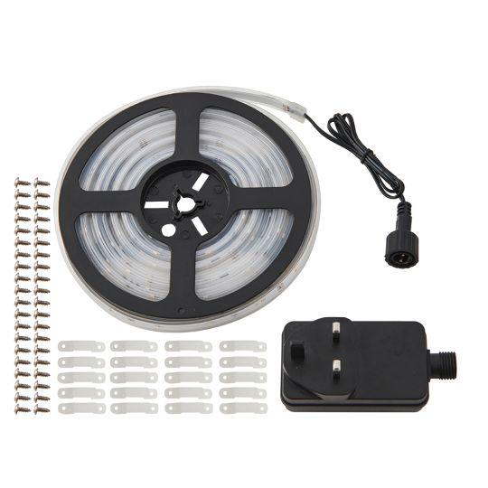 Saxby Lighting White Polymer Film Aqualine 5M Kit Ip65 12W Display Cabinet Light 73711