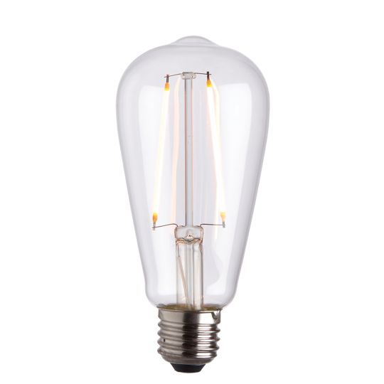 Endon Lighting E27 Led Filament Pear Clear Glass Un-Zoned Accessory 77106
