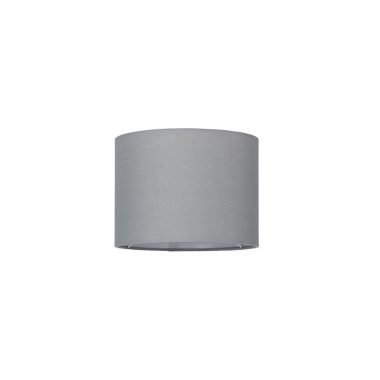 Endon Collection Cylinder Grey Fabric Shade 77484