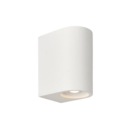 Endon Collection Anders White Plaster 2 Light Wall Light 79882