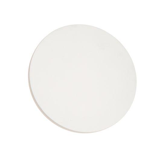 Endon Collection Rae White Plaster 1 Light Wall Light 79891