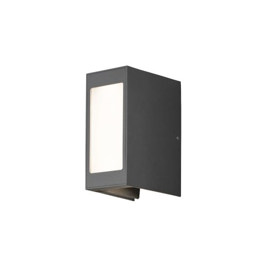 Konstsmide 7992-370 Anthracite Cremona - Painted Aluminium / Clear And Opal Acrylic Glass - Adjustable Light Spans (8x13x17)