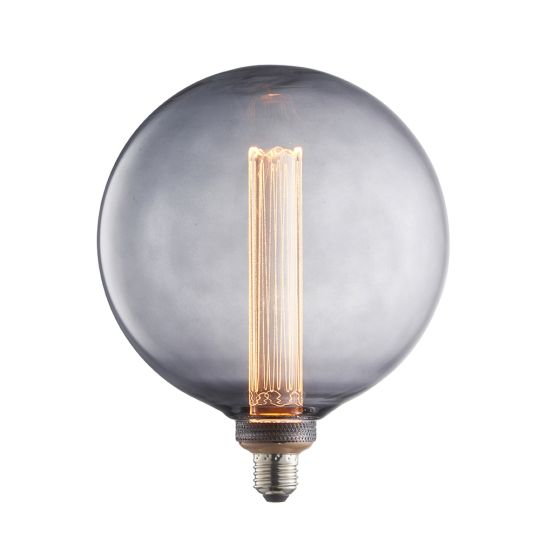 Endon Collection Globe Smoked Glass Un-Zoned Accessory 80170