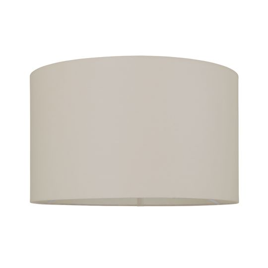 Endon Collection Cylinder Taupe Fabric Shade 80581