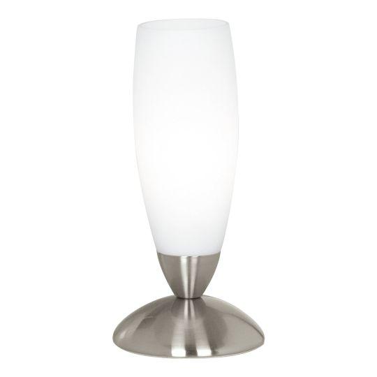Eglo Slim Satin Nickel Table Lamp (82305)