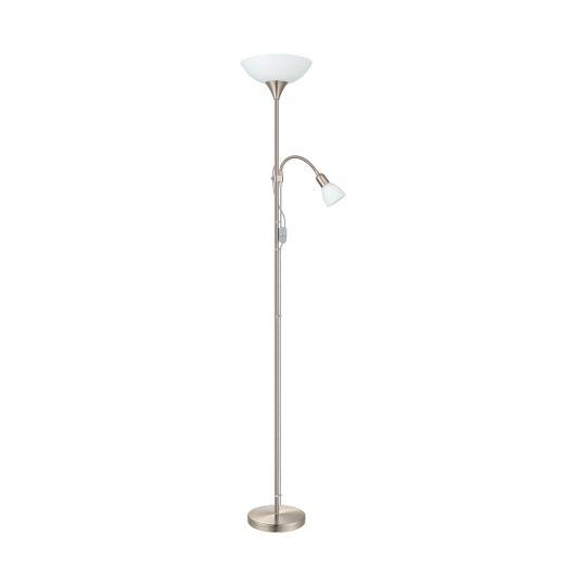 Eglo Lighting - UP2 FL/1 M.LESELAMPE nickel-matt - 82842