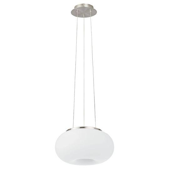 Eglo Optica Satin Nickel Pendant Lamp (86813)