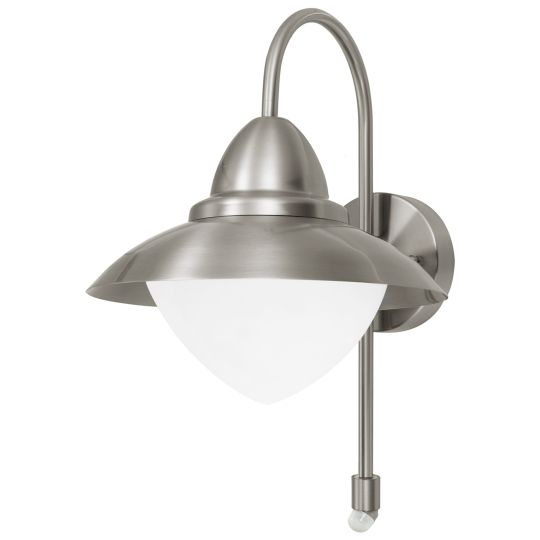 Eglo Sidney Stainless Steel Outdoor Wall Light (87105)