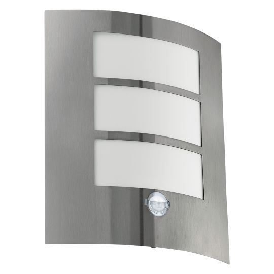 Eglo City Stainless Steel Outdoor Wall Light (88142)