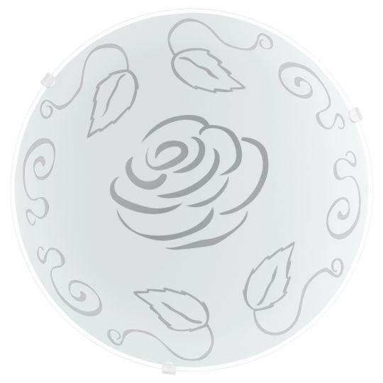 Eglo Mars 1 White Wall/Ceiling Light (89238)