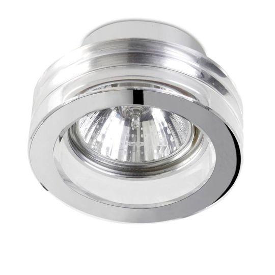 LEDS C4 90-1689-21-37 Eis Aluminium Chrome Recessed Downlight