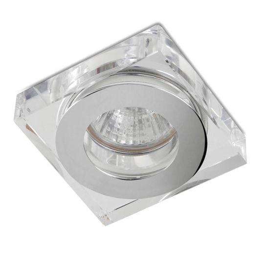 LEDS C4 90-1690-21-37 Eis Aluminium Chrome Recessed Downlight