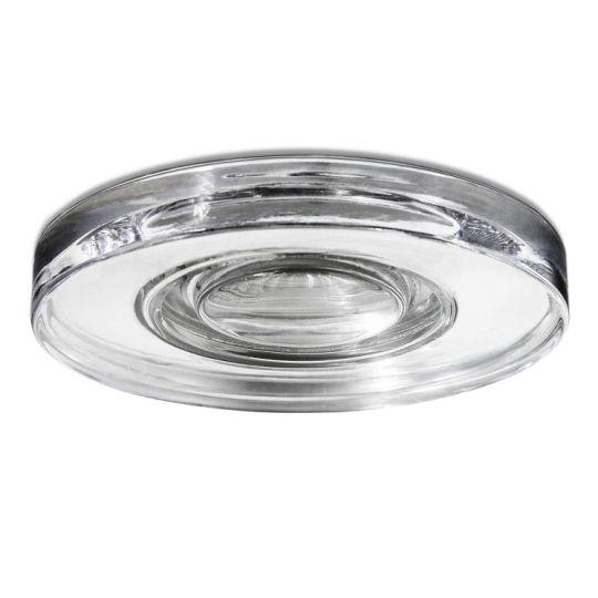 LEDS C4 90-1789-21-37 Eis Aluminium/Steel Chrome Recessed Downlight