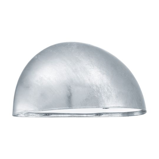 Eglo Lepus Zinc-Plated Outdoor Wall Light (90867)