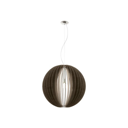 Eglo Cossano Satin Nickel Pendant Lamp (94637)