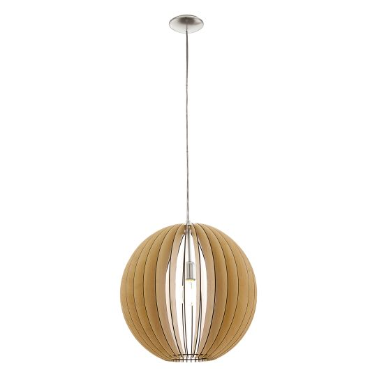 Eglo Cossano Satin Nickel Pendant Lamp (94765)
