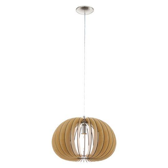 Eglo Cossano Satin Nickel Pendant Lamp (94767)