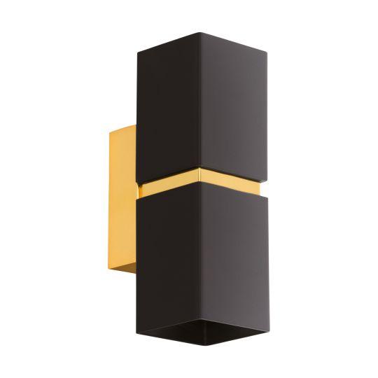 Eglo Passa Black Gold Wall/Ceiling Light (95373)