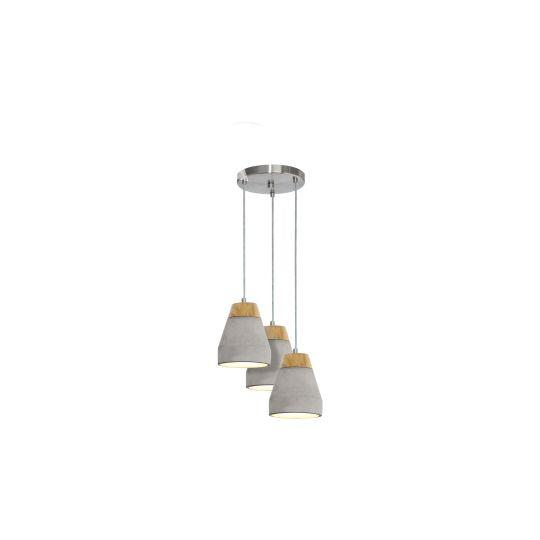 Eglo Tarega Grey Pendant Lamp (95526)