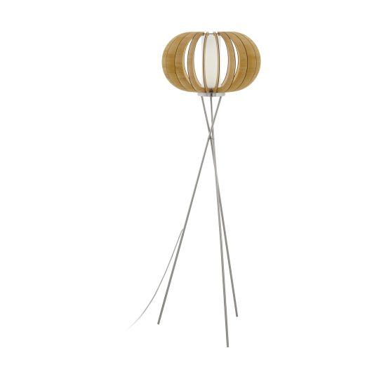 Eglo Stellato 1 Satin Nickel Floor Lamp (95604)
