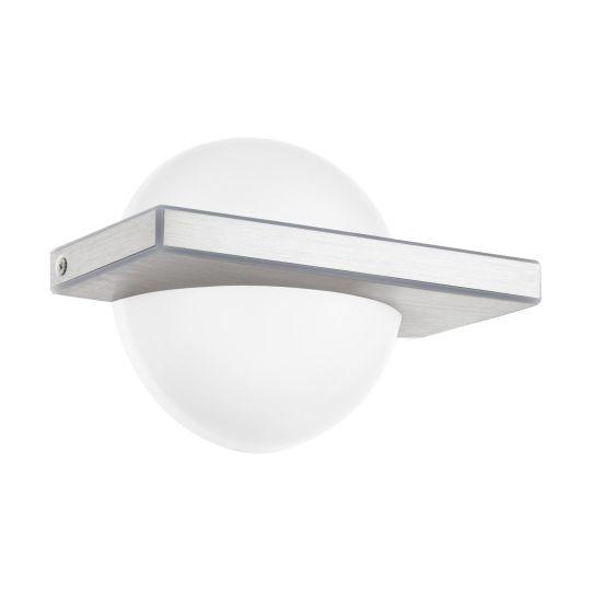 Eglo Boldo Brushed Aluminium Wall/Ceiling Light (95771)