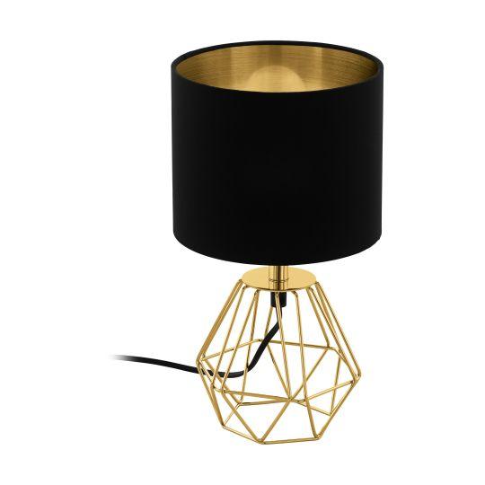Eglo Carlton 2 Brass Table Lamp (95788)