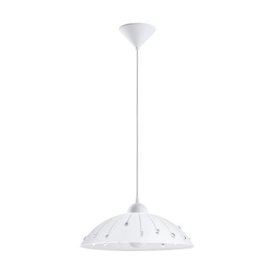 Eglo Vetro White Pendant Lamp (96073)