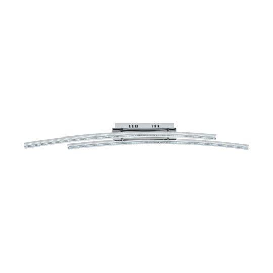 Eglo Pertini Chrome Wall/Ceiling Light (96092)