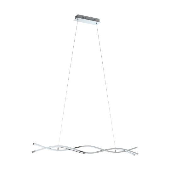 Eglo Lasana 2 Chrome Pendant Lamp (96102)