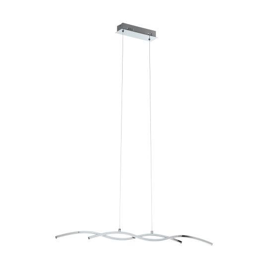 Eglo Lasana 2 Chrome Pendant Lamp (96103)