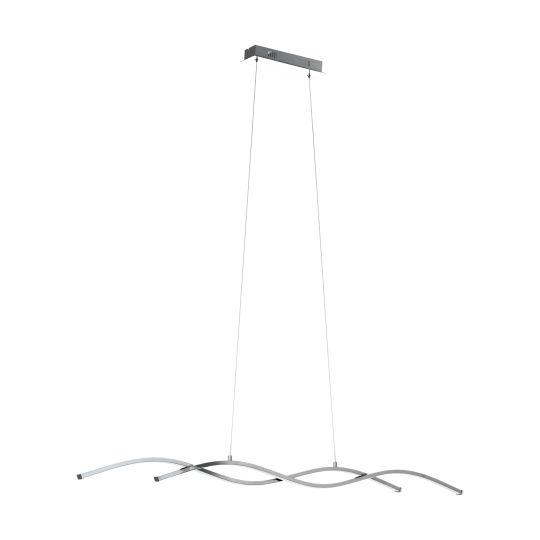 Eglo Lasana 2 Chrome Pendant Lamp (96104)