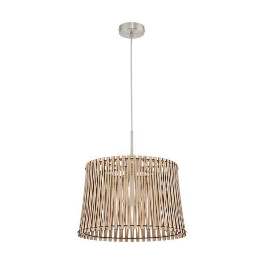 Eglo Sendero Satin Nickel Pendant Lamp (96192)
