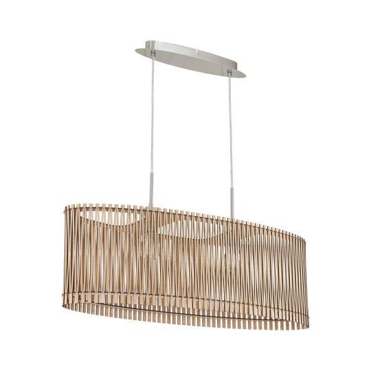 Eglo Sendero Satin Nickel Pendant Lamp (96194)