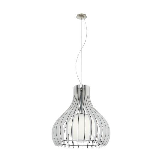 Eglo Tindori Satin Nickel Pendant Lamp (96211)