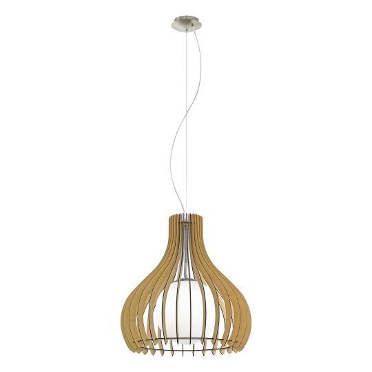 Eglo Tindori Satin Nickel Pendant Lamp (96214)