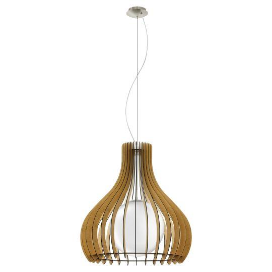 Eglo Tindori Satin Nickel Pendant Lamp (96215)