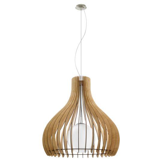 Eglo Tindori Satin Nickel Pendant Lamp (96216)