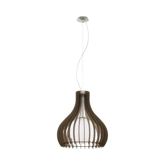 Eglo Tindori Satin Nickel Pendant Lamp (96217)