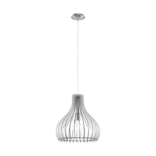 Eglo Tindori Satin Nickel Pendant Lamp (96257)