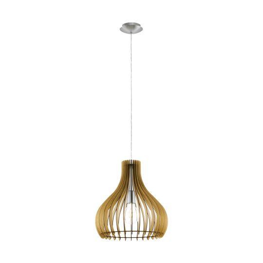 Eglo Tindori Satin Nickel Pendant Lamp (96258)
